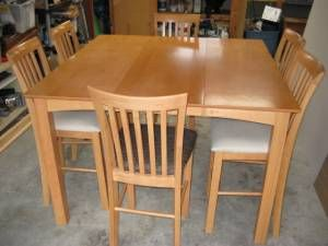 Hamilton Spill Pub Style Table With