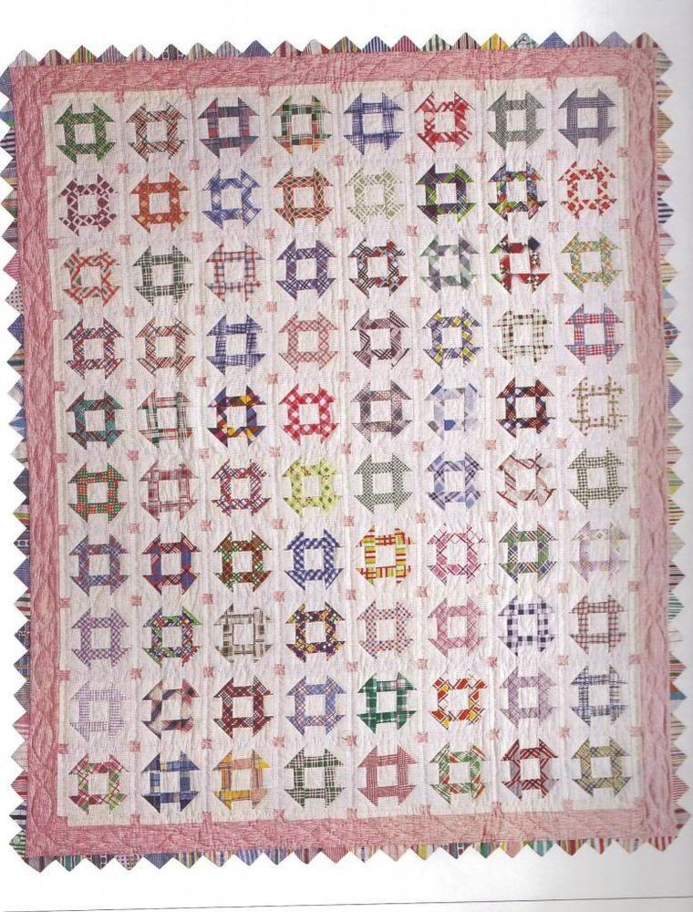 HOLE IN THE BARN DOOR Feedsack Quilt