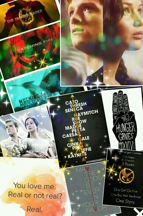 Hunger Games collage made by Kaitlyn's Collages ...