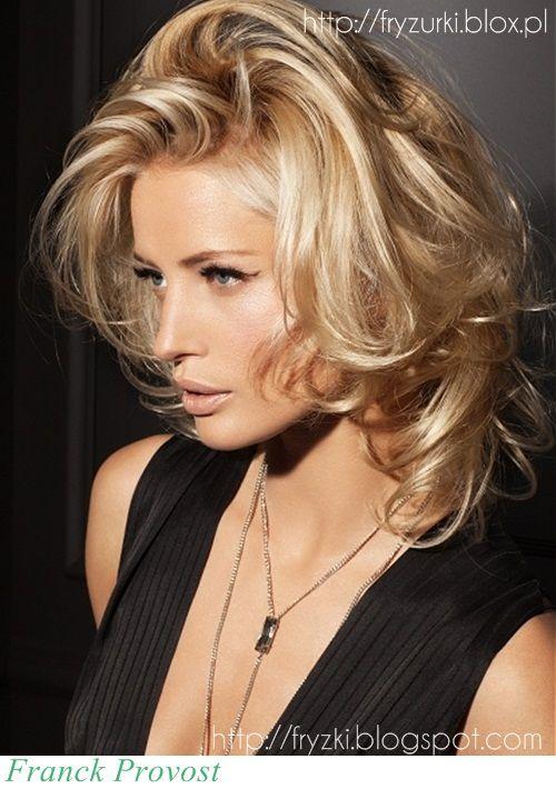 Fryzura Dnia średnie Blond Włosy In 2019 Hair Pinterest Hair