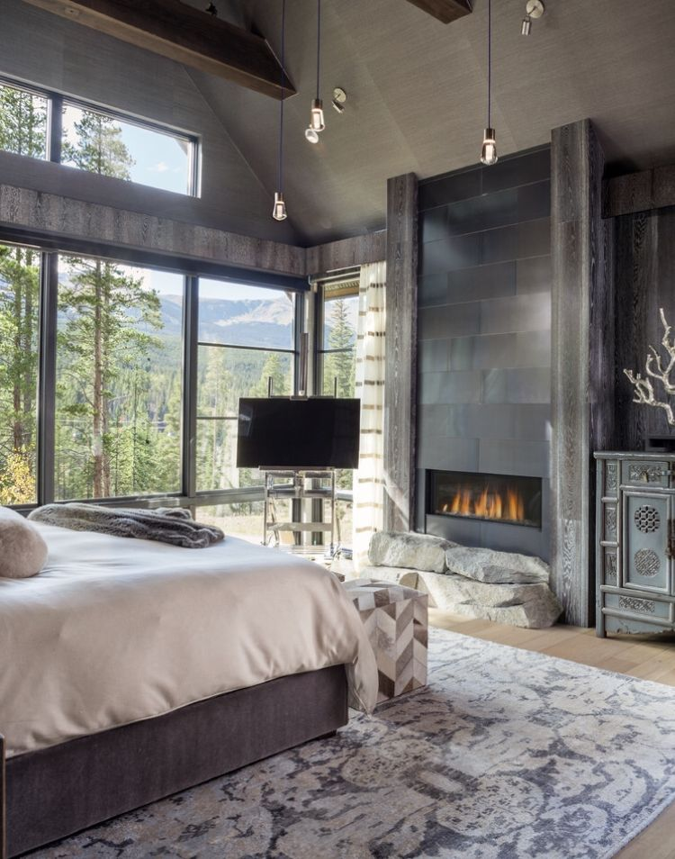 Rustic Master Bedroom Decor Image By Jennifer Hicks On