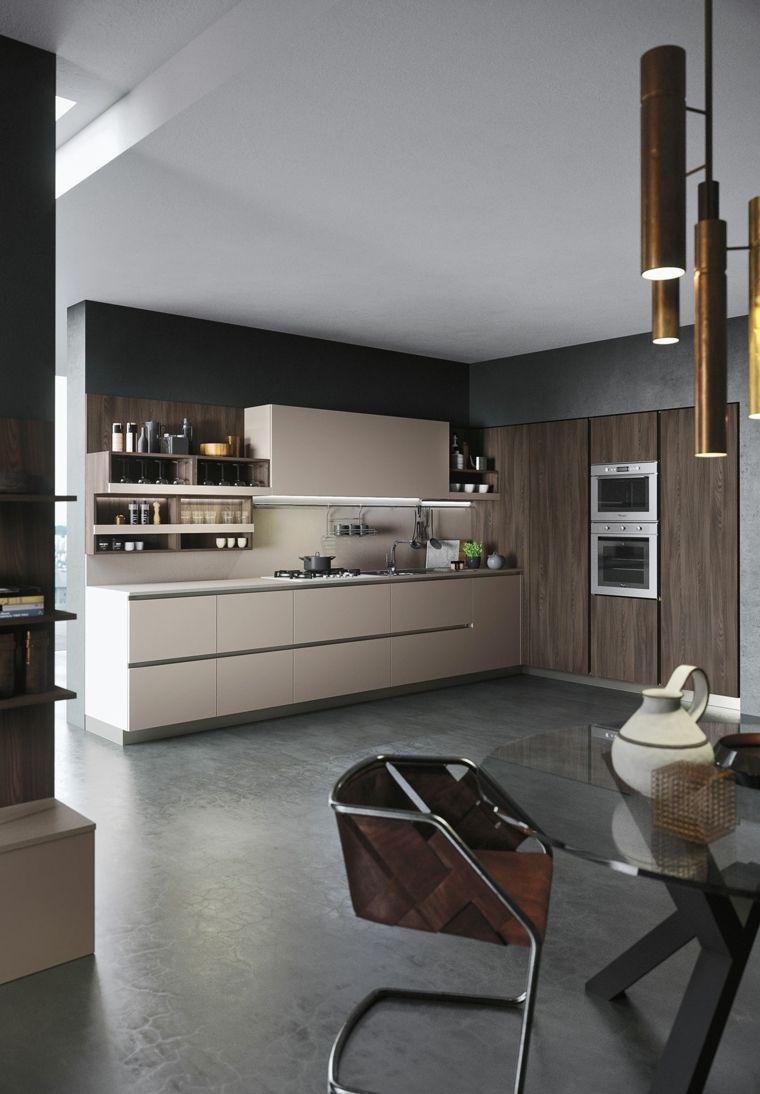 Minimalistische Küchen von Snaidero Funktionalität und