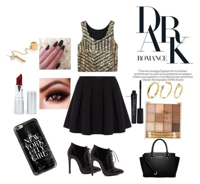 """""""FOXY MAMA"""" by desiner on Polyvore featuring Polo Ralph Lauren, Casetify, Smashbox, MICHAEL Michael Kors, Pixie Grey, DANNIJO and HoneyBee Gardens"""