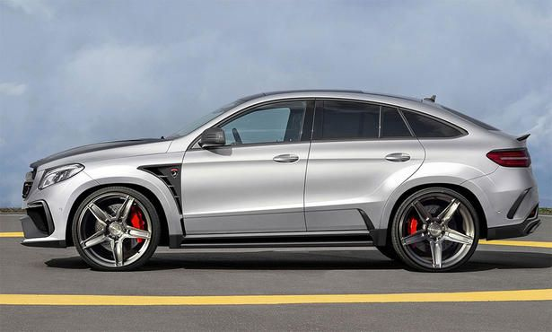 Mercedes Gle Coupe Body Kit By Topcar Mercedes Benz Gle Coupe
