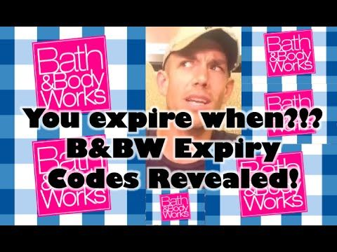 B Amp Bw Expiration Codes Revealed How To Find Bath Amp Body