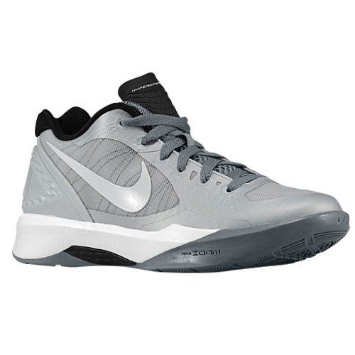 Nike Volley Zoom Hyperspike Pure Platinum/Cool Grey/Metallic Platinum/White Women's  Volleyball Shoes, B(M) US