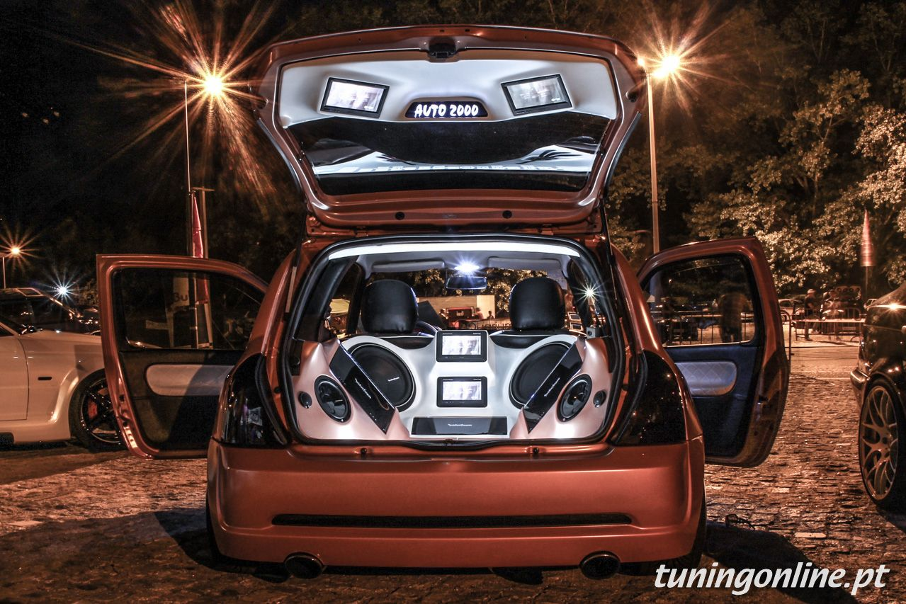 Renault Clio Car Audio Carros E Motocicletas Pinterest Car