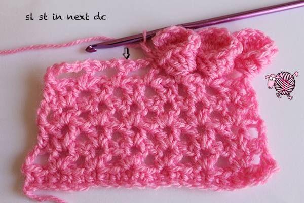 Crochet Flower Edging............. | esquemas e pontos de crochê ...
