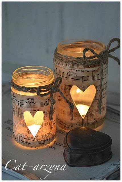 Easy Valentine Crafts Rustic Crafts & Chic Decor Mason