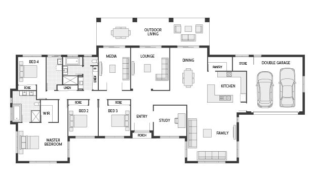 Floor Plan Friday Perfect For A Rural Setting House Plans Australia Floor Plans Country Style House Plans