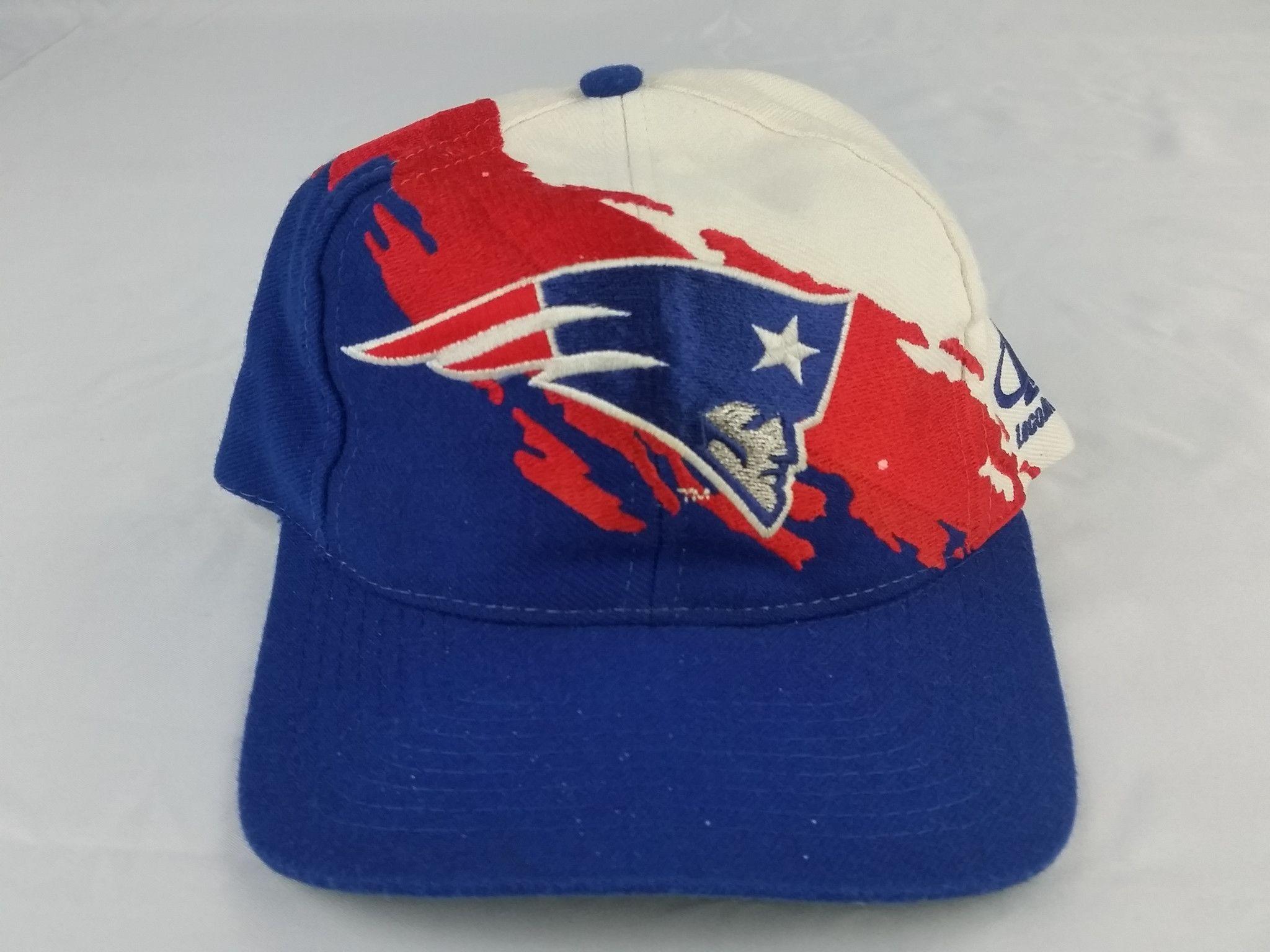 bf23a4e6f New England Patriots Vintage Snapback Logo Athletic Splash Hat NFL Pro Line  Cap