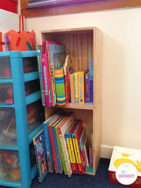 Diy Fabriquer Une Bibliotheque De Recup Pour Votre Enfant Fabriquer Une Bibliotheque Diy Recup