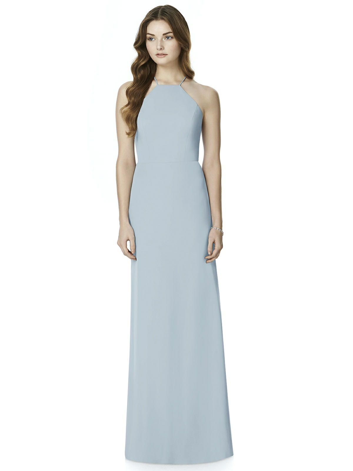 After Six Bridesmaid Dress 6762 | Chiffon bridesmaid dresses ...
