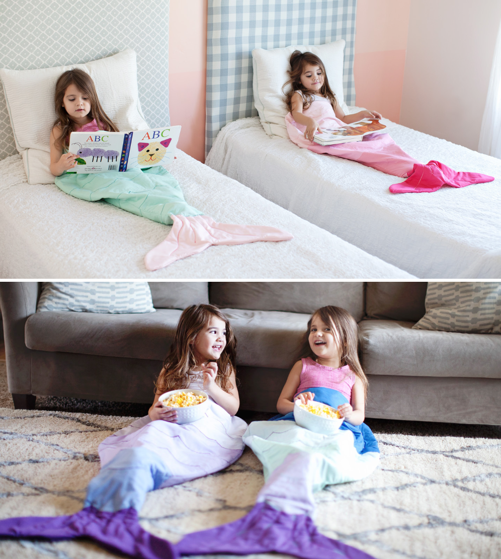 Meerjungfrauen-Säckchen | KREATIV ⭐ Nähen | Pinterest | Decken ...