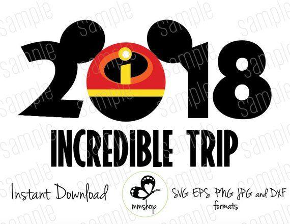 2019 Incredible Trip - Mickey Incredible Ears - Instant