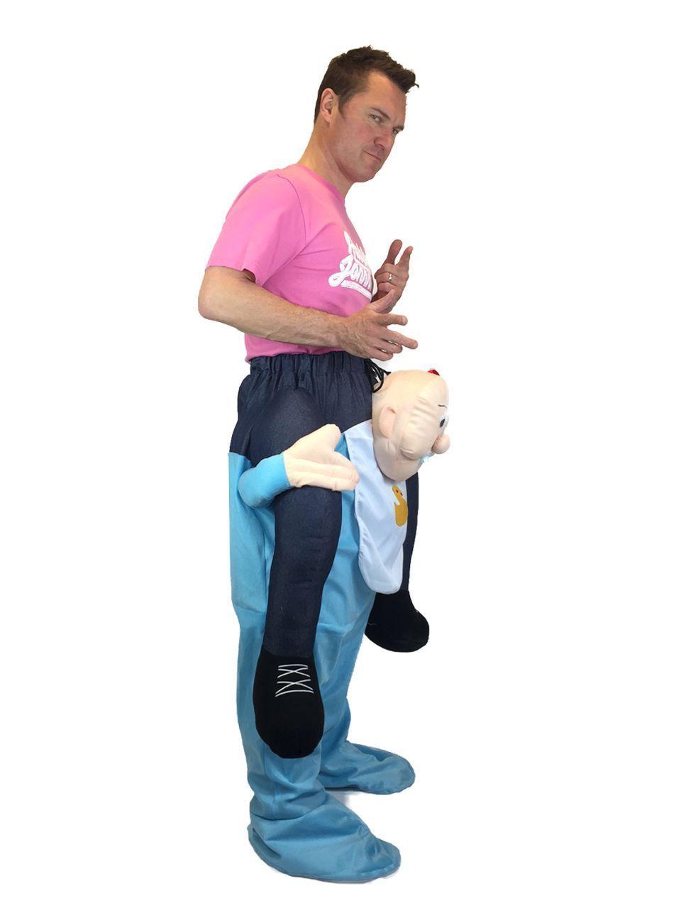 Details about Carry Me Piggy Back Leprechaun Baby Bear ...