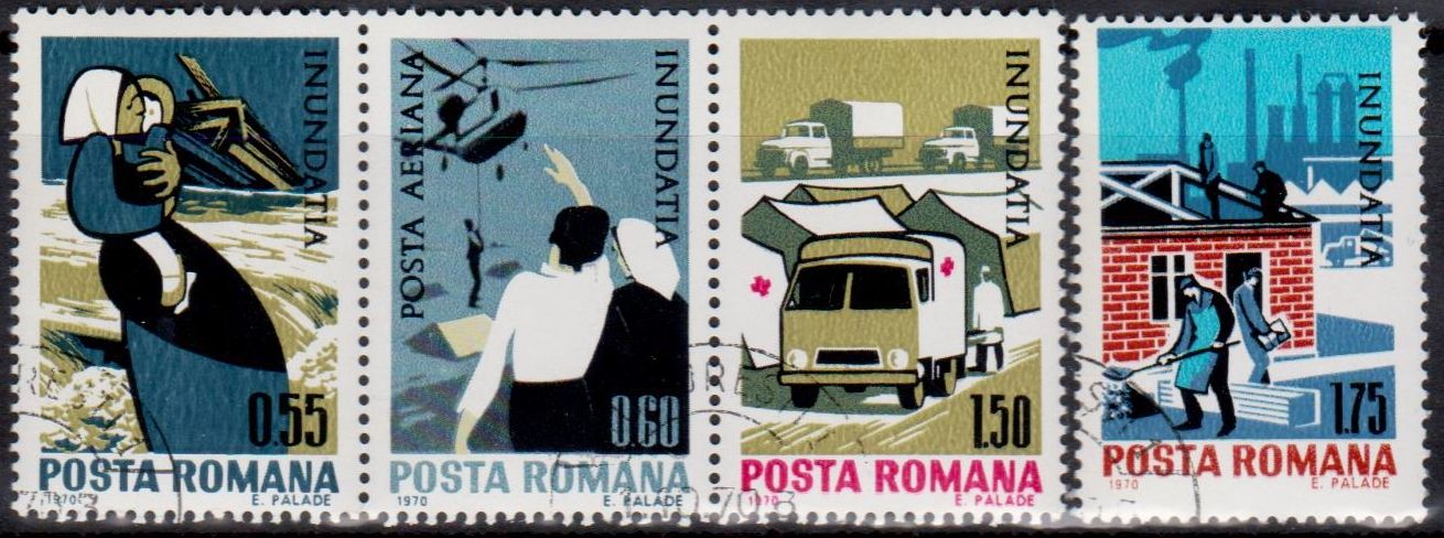 Romanian Red Cross Stamps.