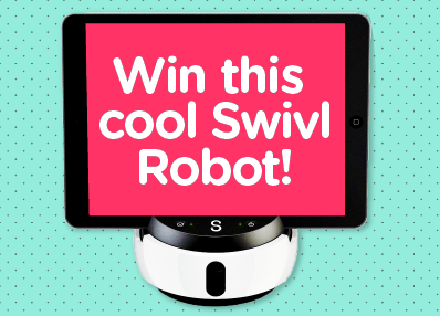 This next two weeks, we're giving away a $438 Swivl Tech Bundle. Be sure to sign up by July 5, 2015 to be eligible to win!