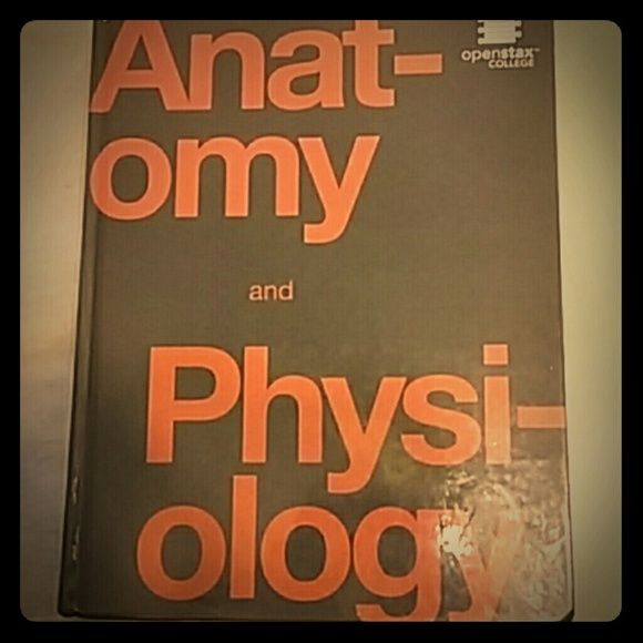 Anatomy and Physiology textbook Need been used, no markings except ...
