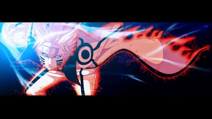 Naruto Uzumaki Kyuubi Cloak Sage Mode Hd Wallpaper 1080p Naruto