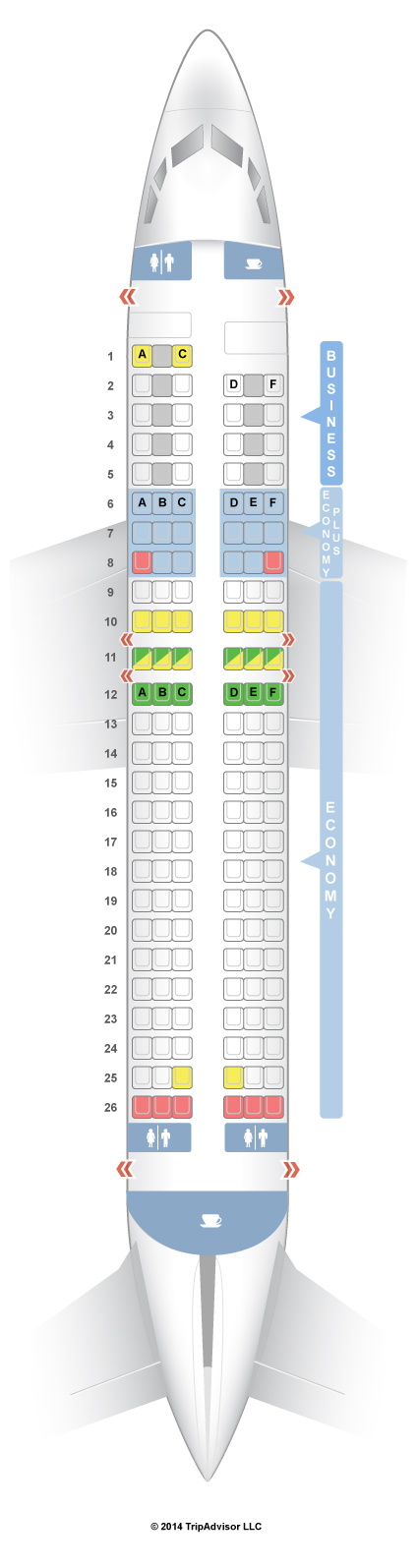 Seatguru Seat Map Lot Polish Airlines Boeing 737 400 734 Seatguru Spirit Airlines Airbus
