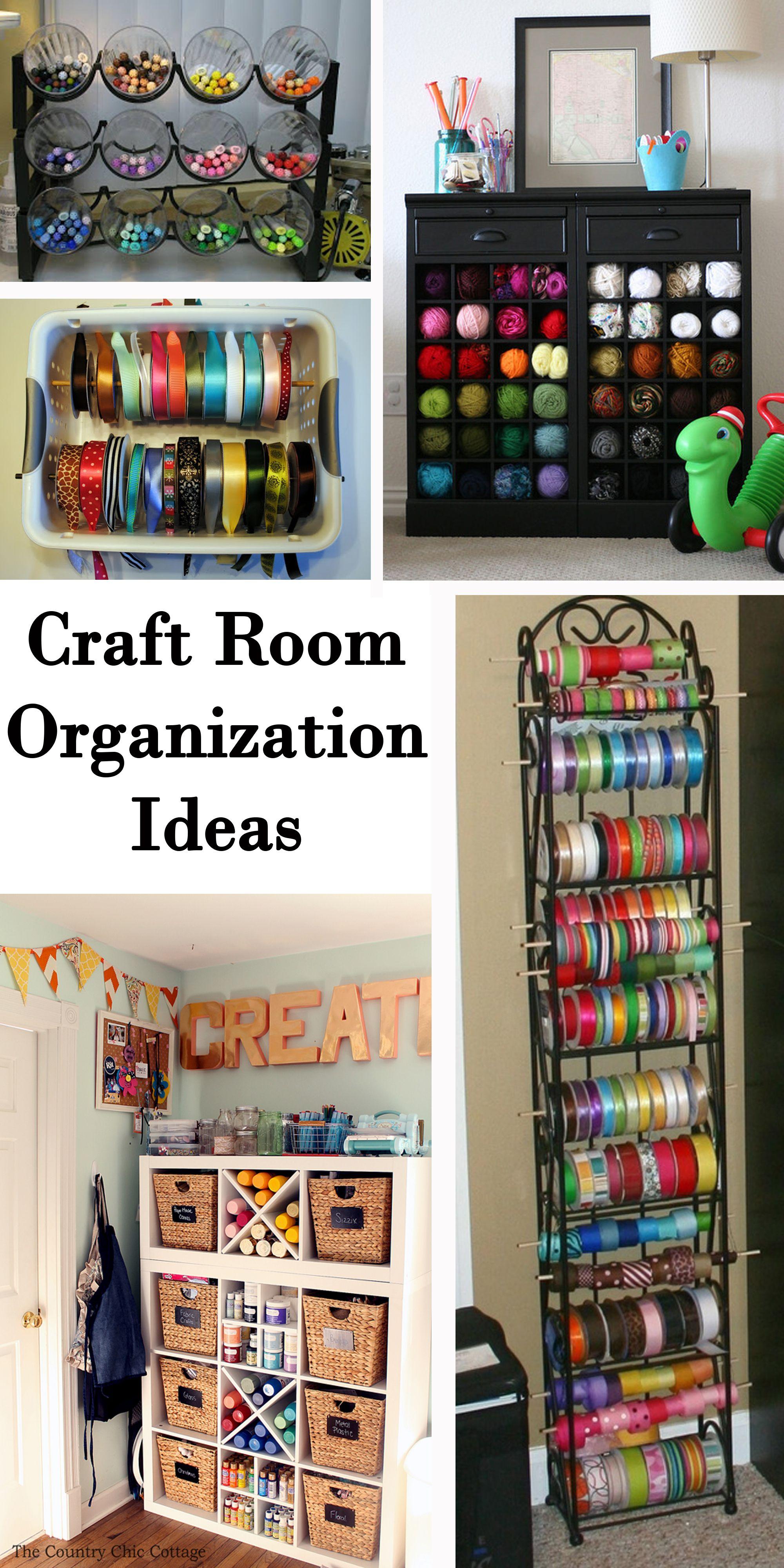 Craft Room Organization Ideas Room Organization Craft Room