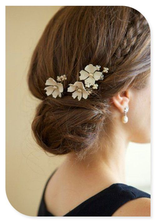 Could Be Nice For A Flower Girl Or The Bride Or Bridesmaids Wedding Hair And Makeup Hair Accessories Beautiful Hair