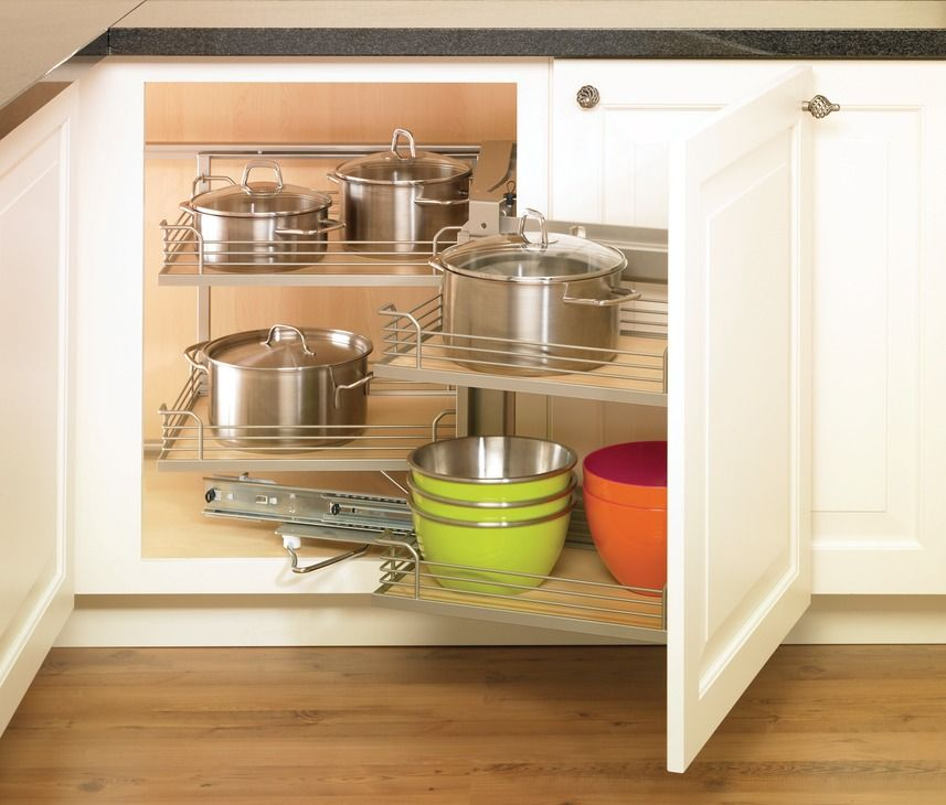 Blind Base Corner Slide Out Hafele Magic Corner I For Use In Kitchen Blind  Corner Cabinet Can Be A Good Solution!
