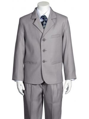 f6b94b7d9 Boys 5 Piece Light Grey Suit 3710 by Lito | Missionary Suits | Boys ...