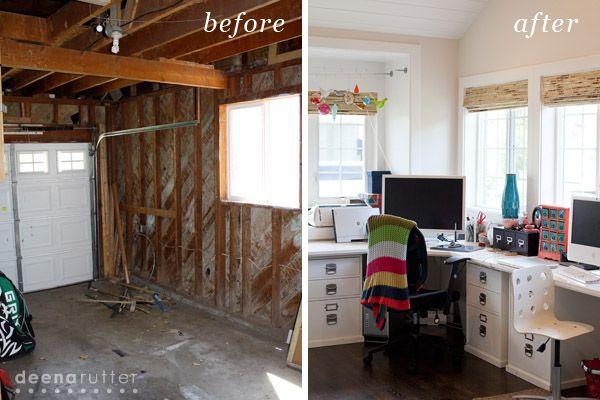 garage to office conversions. Deena Rutter Home Tour Part 1- Garage Conversion To Studio » Office Conversions