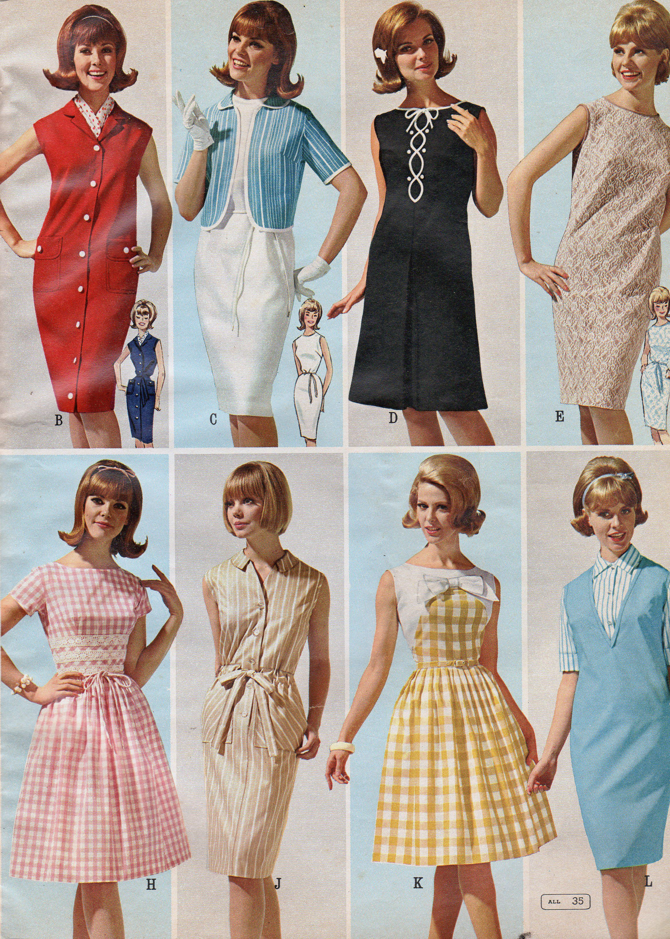 1965 Montgomery Ward Catalog Summer 40s 50s 60s And 70s 60er