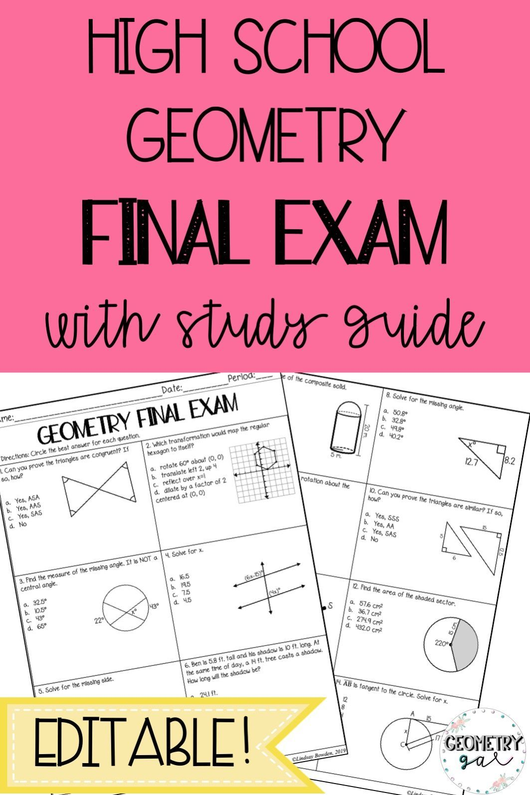 Pin On High School Geometry