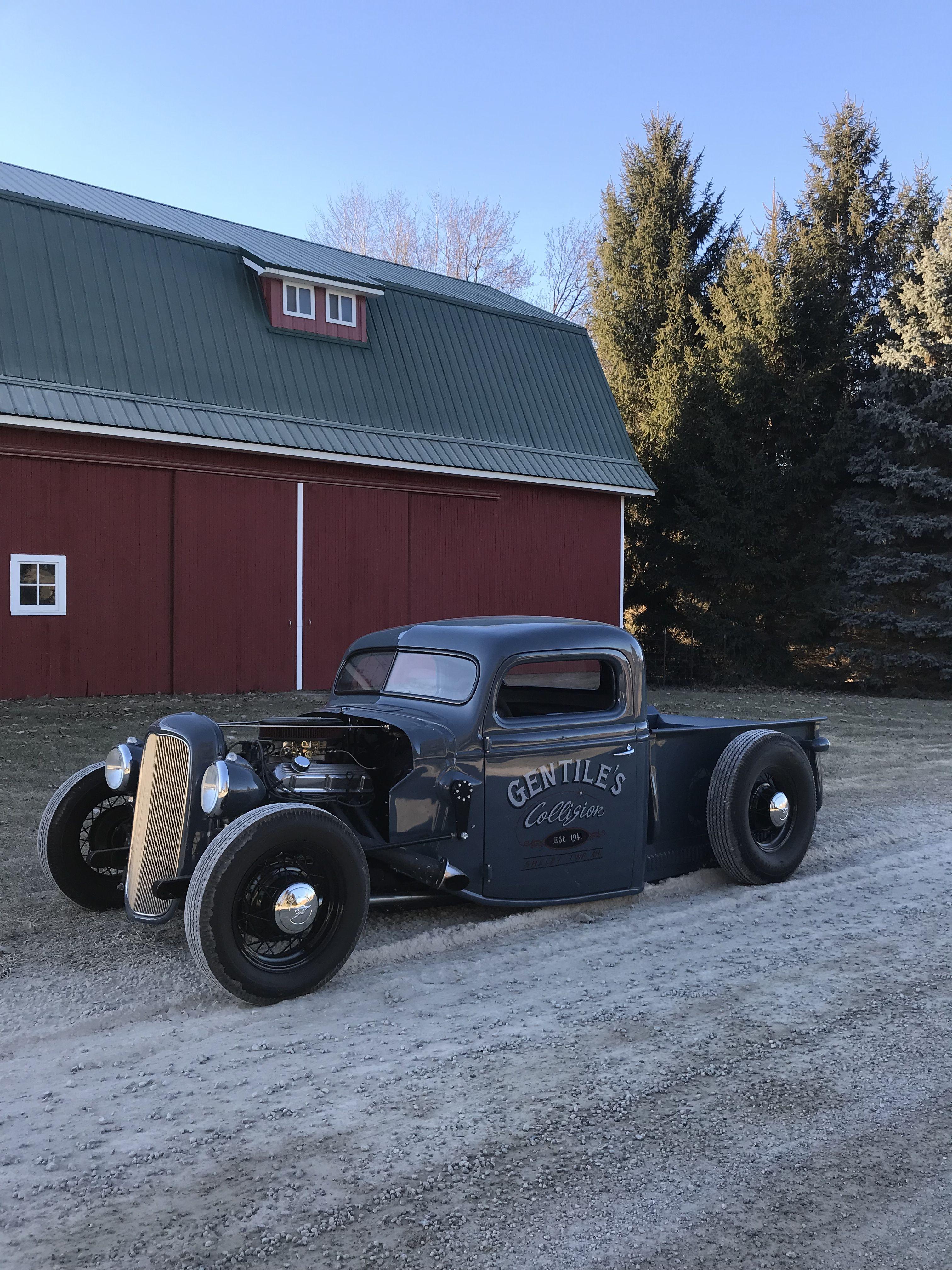 Rat Rod Hot Rod Traditional Jalopy 1937 Ford Pickup Rat Rods Truck Rat Rod Hot Rod Pickup