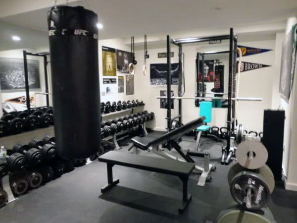 40 Personal Home Gym Design Ideas For Men Workout Rooms Home