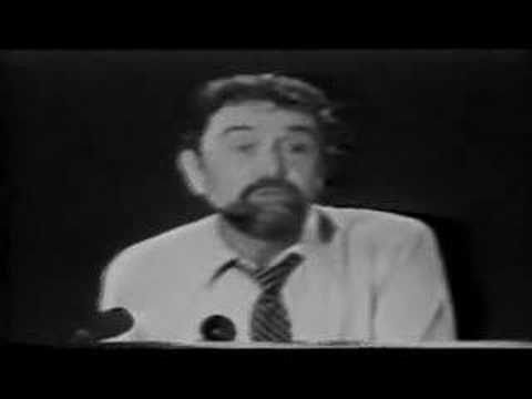 Poem Leo Buscaglia - Only you can Make the difference - YouTube  We can learn about appreciation from Leo!