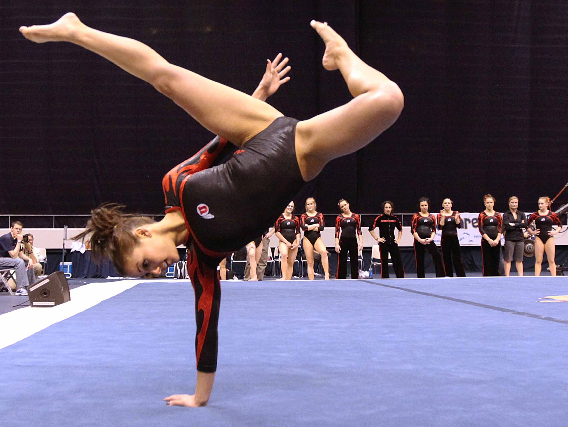 One Of My Favorite Floor Routines Ever Kristina Baskett