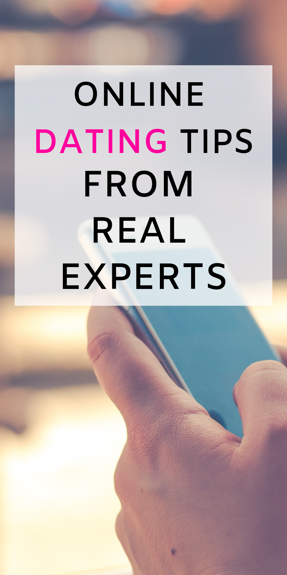 Internet dating succes tips