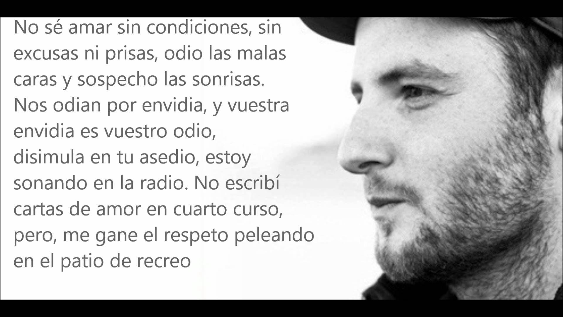Por Amor Al Odio Letra Jazz Rafael Lechowski Words Hip