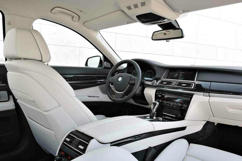 White Interior For BMW 740