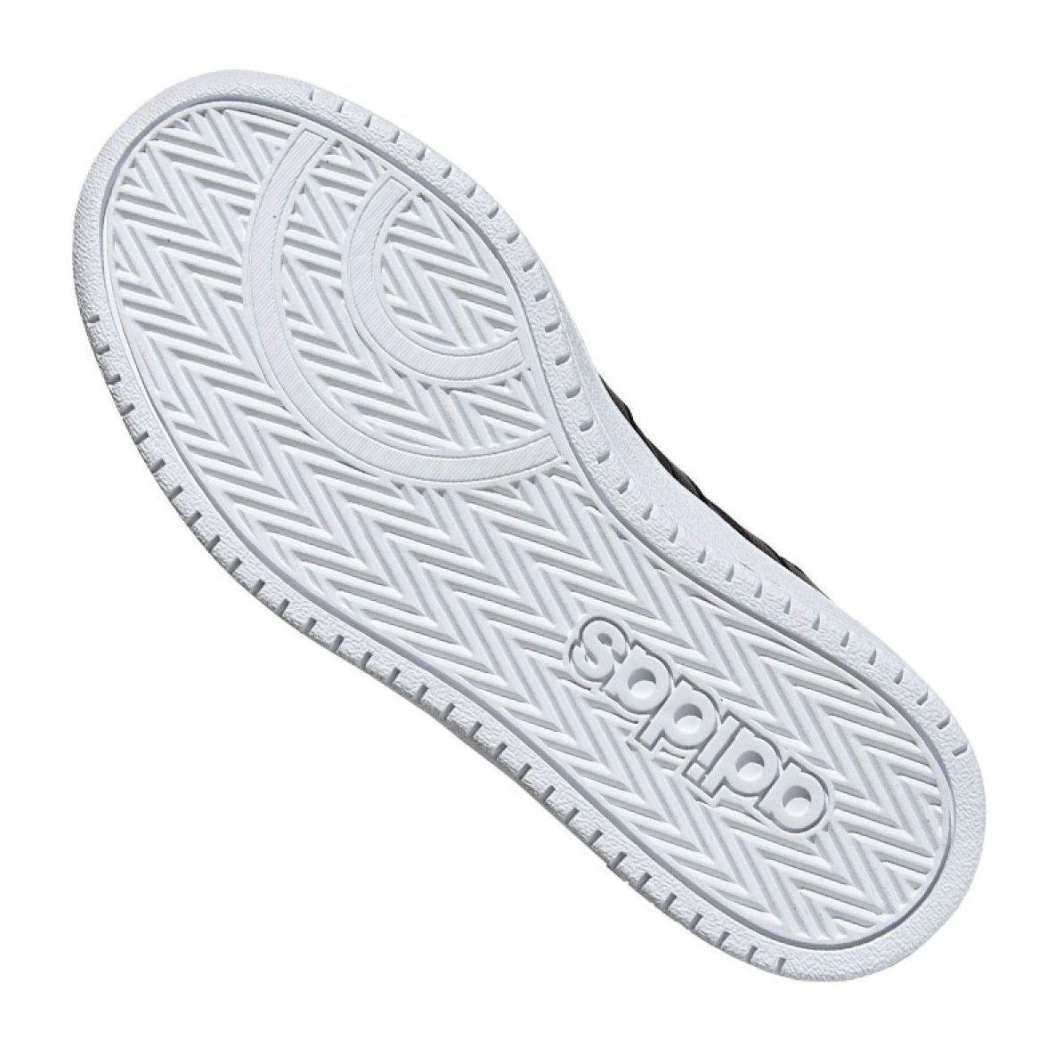 Buty Adidas Hoops Mid 2 0 Jr Ee8547 Czarne Junior Shoes Black Shoes Sports Shoes Adidas