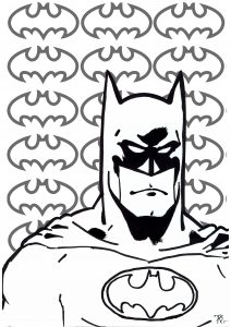 Books And Comics Coloring Pages For Adults Pop Art Coloring Pages Pop Art Coloring Page Batman Coloring Pages
