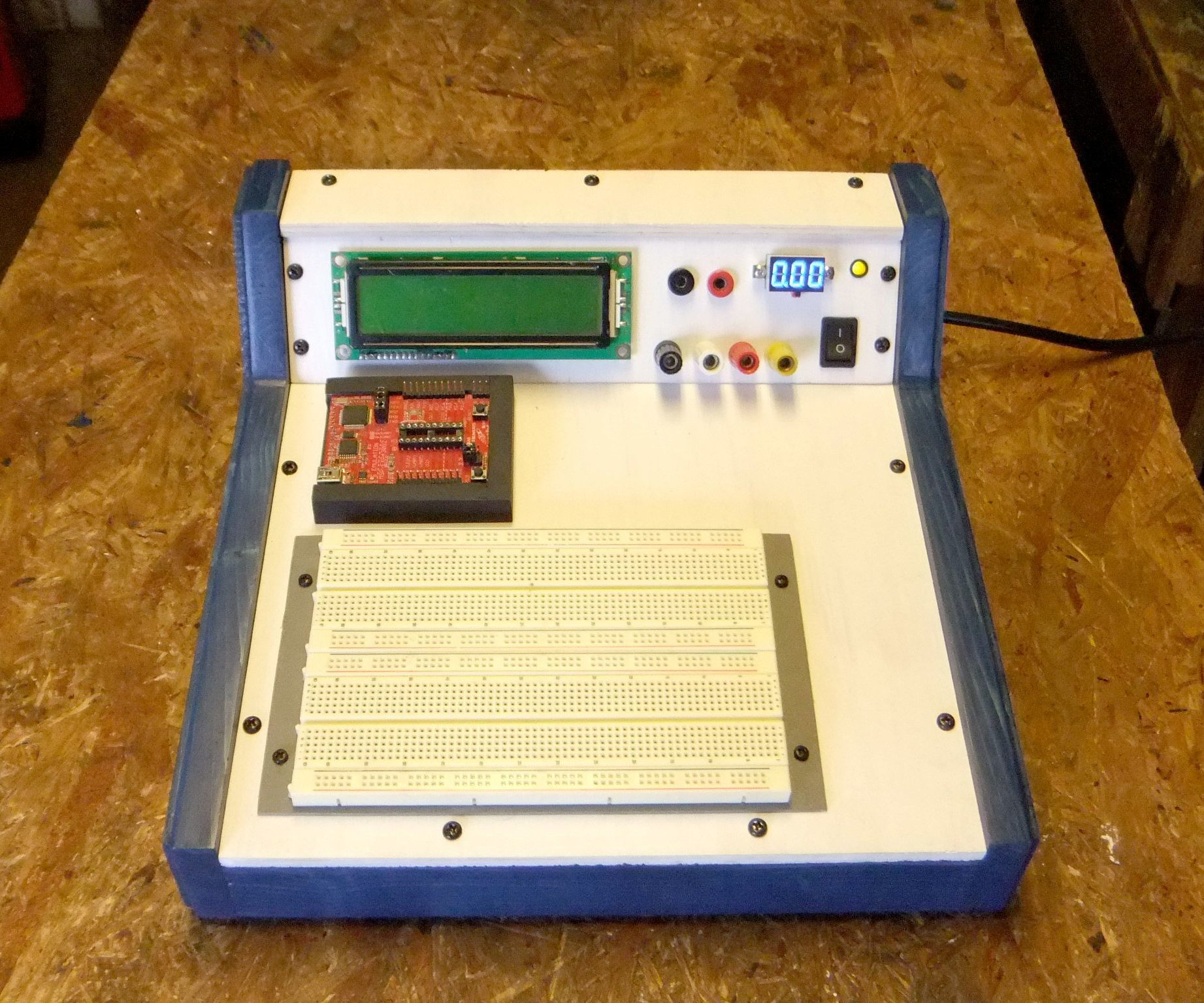 Breadboard Training Lab Studio Shop Pinterest Electronics Electronic Circuit If You Design Circuits Chances Are That Youve Tested Your Out On A Before Finalizing Pc Board Layout