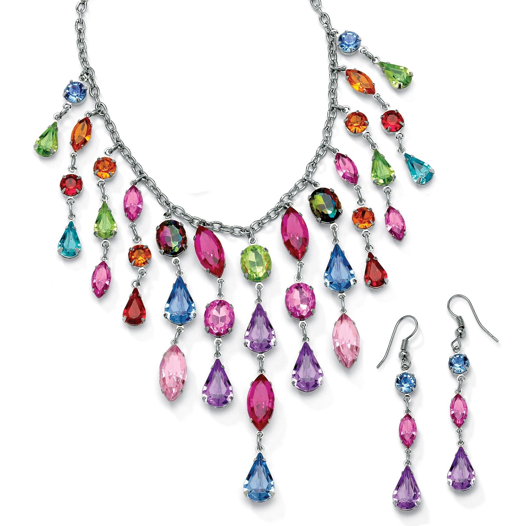 Lots of colors, shapes and sparkle for your jewelry ...