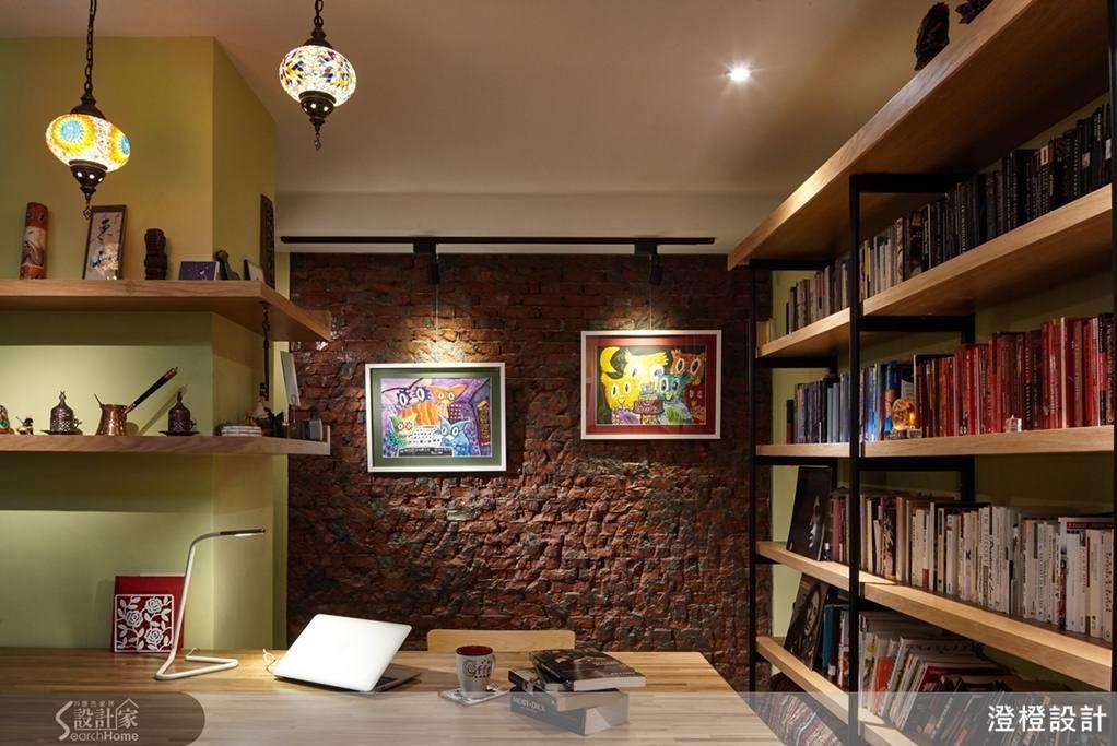 展翼翱翔 剛中帶柔的單身型男部屋 Home Decor Corner Bookcase