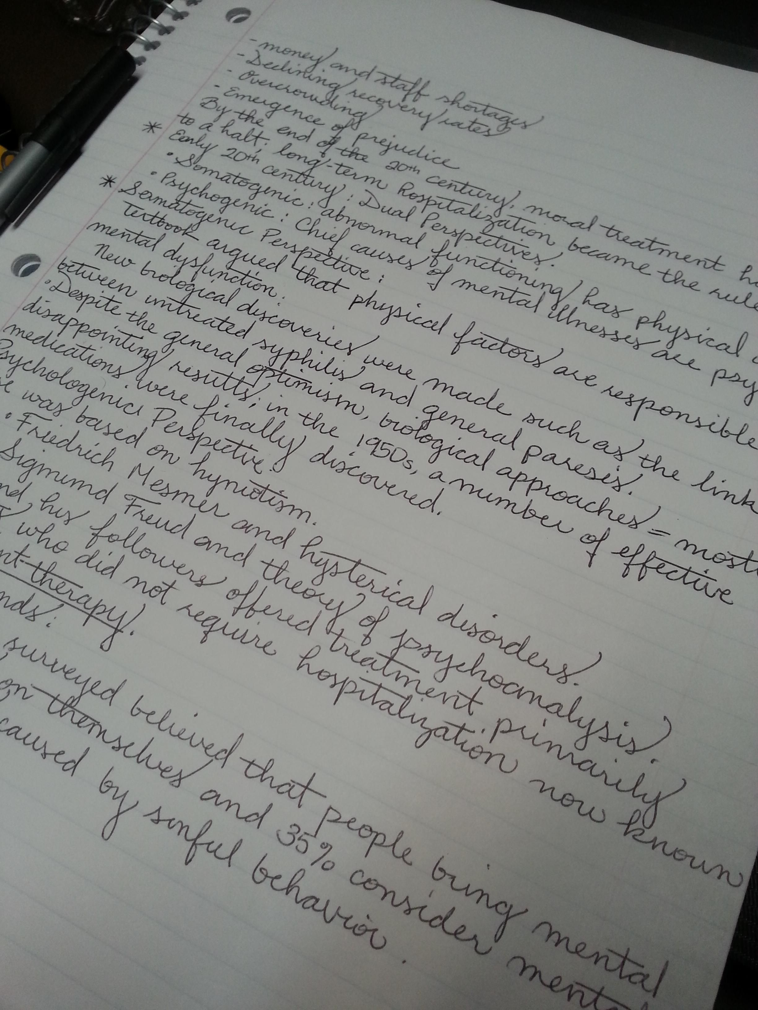 Class Notes Those Ss Tho
