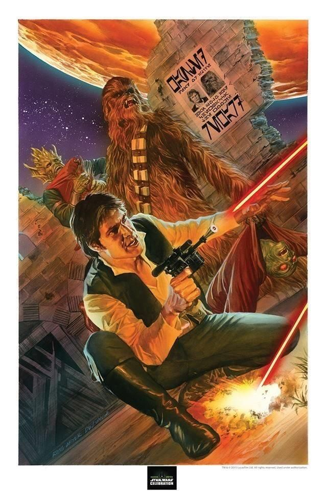 Han and Chewie by Alex RossPage/Cover