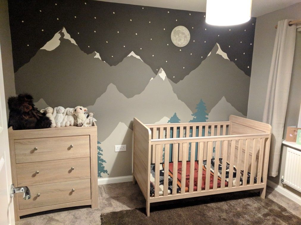 Baby Boy Nursery Woodland