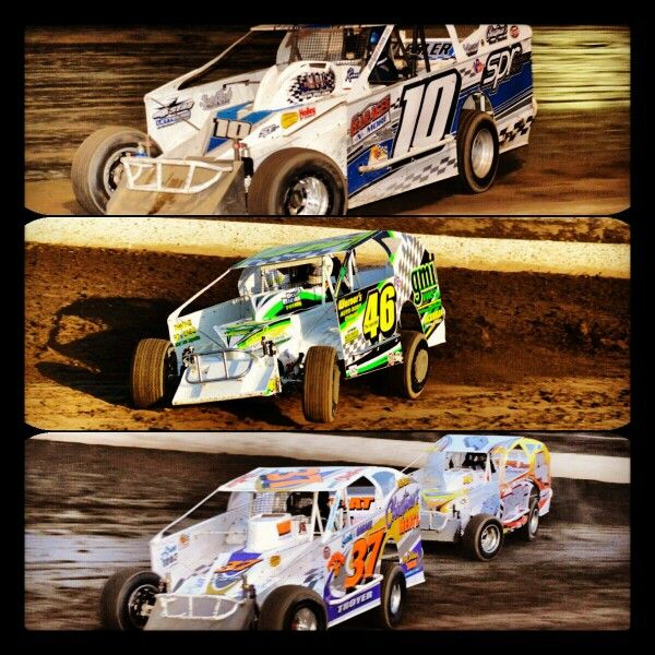 Dirt Track Racing At Grandview Speedway ... 358 Modifieds