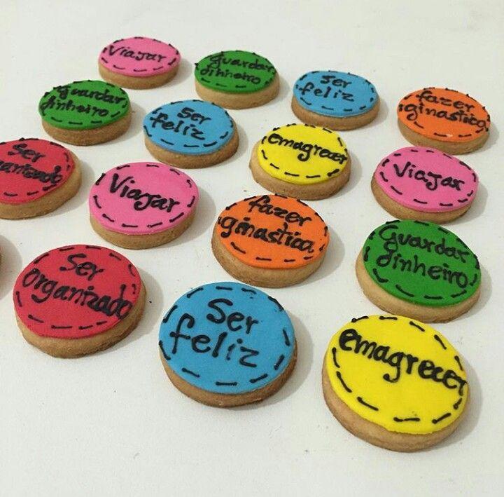 Biscoitos dos Desejos - Boa lembrança para convidados.