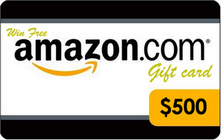 You can win free $500 Amazon Gift Cards with a very simple step. All you need is click on the images above and enter registration page. It's easy as nothing else to do just free registration and you are done.